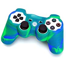 Silicone Protective Skin Cover For Sony Playstation PS2 PS3 Controller