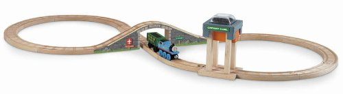 Fisher-Price Thomas the Train Wooden Railway Coal Hopper Figure 8 Set