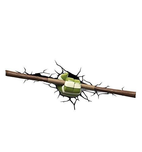 Teenage Mutant Ninja Turtles 3D Wall Art Nightlight - Donatello Weapon by Animewild