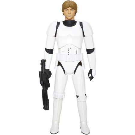 "Jakks Big-Figs Massive Star Wars 31"" Luke Skywalker in Stormtrooper Gear Figure"
