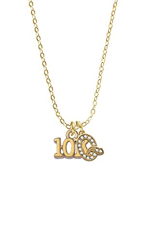 Gold Tone 10K Gold Tone Initial - Q - Sophia Necklace