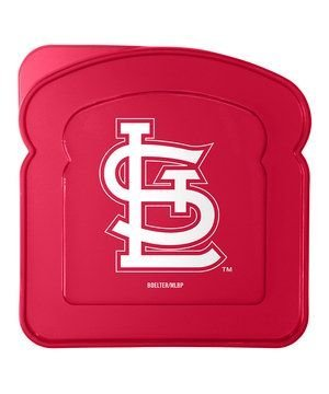 MLB Licensed Sandwich Box Keeper (St. Louis Cardinals)