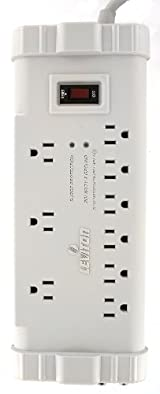 Office Grade Surge Strip, 9 Outlets, 6 Ft Cord, 5-15P plug, S2000-PTC