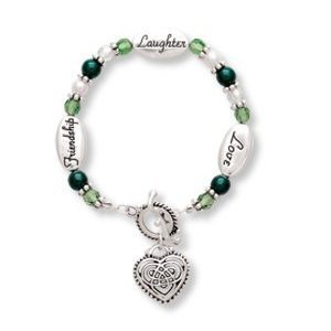 Expressively Yours Bracelet - Love Laughter Friendship