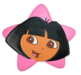 Ginsey Dora The Explorer Tub Treads Stars
