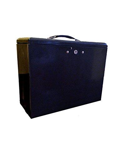 File Lock Box Folder Storage Boxes Security Metal Portable ...