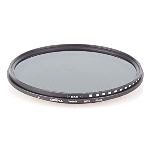 Neewer 86mm ND Fader Neutral Density Adjustable Variable Filter (ND2 to ND400)