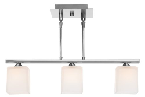 Access Lighting 64013-BS/OPL 3 Light Hermes Telescopic Kitchen