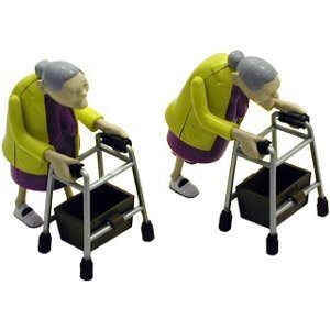 Racing grannies, gadget insolite et fun
