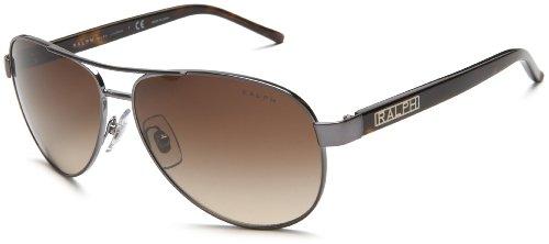Sonnenbrille RA4004 (Ralph) Gunmetal Frame/Brown Gradient Lens 59 mm