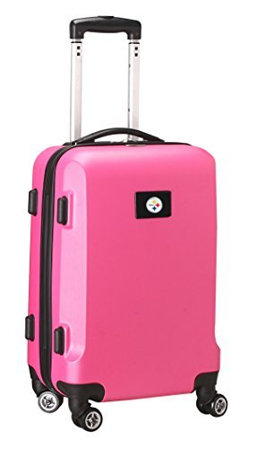 nfl-pittsburgh-steelers-carry-on-hardcase-spinner-pink-by-denco