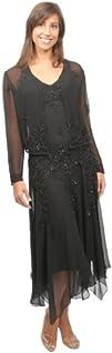 The Evening Store Chiffon Evening Dress Handkerchief Hem