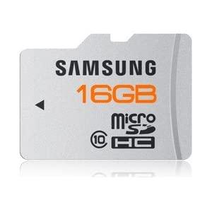 Samsung MB-MPAGA 16 GB microSDHC Flash Memory Card