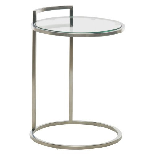 Nuevoliving Lily Side Table - Silver at Sears.com