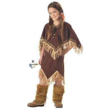 Indian Princess Wildflower Kids Costume