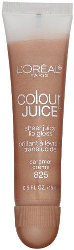 L'Oreal Paris Colour Juice Sheer Juicy Lip Gloss, Caramel Crème, 0.5-Fluid Ounce