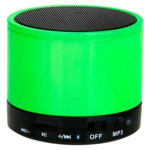 Best Shopper - Mini Bluetooth Wireless Mp3 Portable Hands-Free Speaker - Lime Green