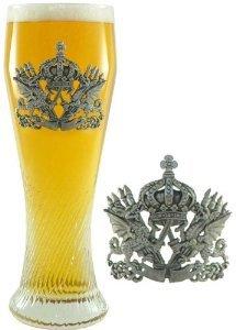 05-liter-pilsner-glass-with-dragon-pewter-badge