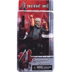 NECA Resident Evil 4 Series 1 Action Figure Chainsaw Ganado