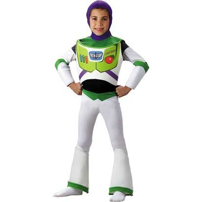 Disneys Toy Story #5233 Deluxe Buzz Lightyear Costume (Child Small Size 46)