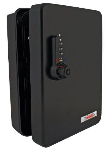 KeyGuard SL-8548-UB Dual Access Combination Key Cabinet With Black 4-Dial Combi-Cam Ultra - 48 Hook