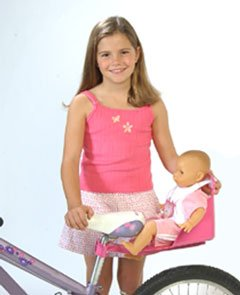 Dolly Come Ride With Me Doll's Bicycle Seat - Take Your favourite Friend On Every Adventure!