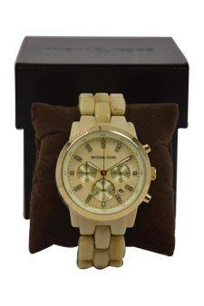 Michael Kors Mk5216 Chronograph Tortoise Watch Watch