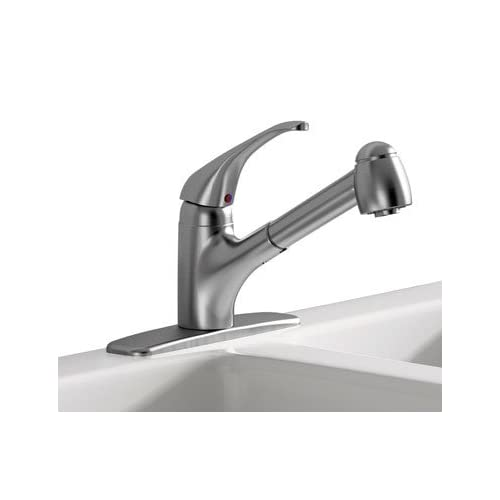 Cyber Monday Deals American Standard Inc 6310SSF Kitchen Faucet Single Handle - Stainless Steel