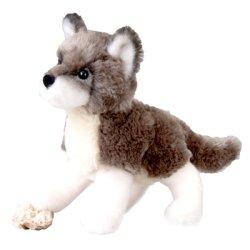 Douglas Cuddle Toys Ashes - Lobo de peluche (20,3 cm) de Douglas Cuddle Toys