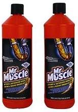 Mr músculo 7518634cocina y baño drenaje Gel, 1L
