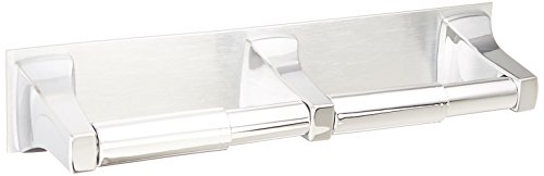 Moen R5580 Commercial Double Roll Paper Holder, Chrome (Toilet Roll Holder Commercial compare prices)
