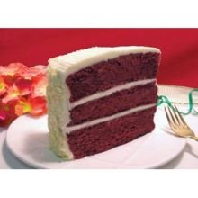 Love and Quiches Classic Layer Mile High Red Velvet Cake, 10 inch -- 2 per case.