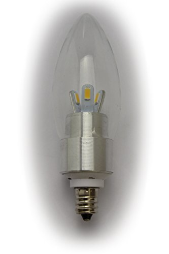 Luzto (Tm) Led Chandelier Candelabra Oval Light Bulb