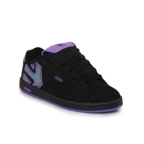 Etnies Fader Skate Shoe (Toddler/Little Kid/Big Kid),Black Indigo,2 D Us Little Kid