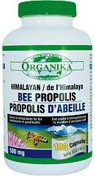 Organika Himalayan Bee Propolis, 500Mg, 100 Capsules