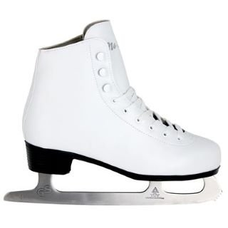 No Fear Ice Figure Skates White 4 UK UK