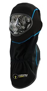 Forcefield Tornado+Balaclava/Windproof Clothing - Black/Grey/Blue, One Size