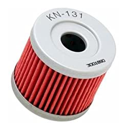 See K&N Performance Gold Oil Filter - Red Details