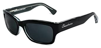 Skechers Women's Designer Sunglasses SK 7026 BKGRY-3