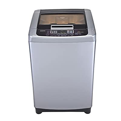 LG T9003TEELR Top-loading Washing Machine (8 Kg, Silver)