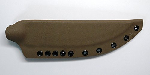 Riveted Kydex Sheath For Cold Steel Knives Bushman Knife 95Busk - Dark Earth