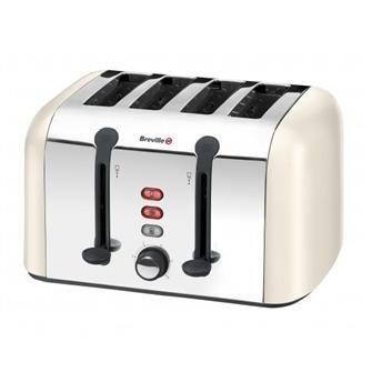 Breville VTT325 4 Slice Toaster - Cream
