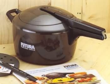 Hawkins Futura Anodized Pressure Cooker - 3 Liters
