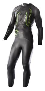 Buy 2XU Mens A:1 Active Triathlon Wetsuit, Black Vibrant Green by 2XU