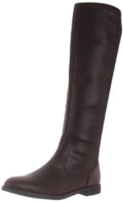 Lacoste Women's Rosemont 5 Boot,Dark Brown,10 M US