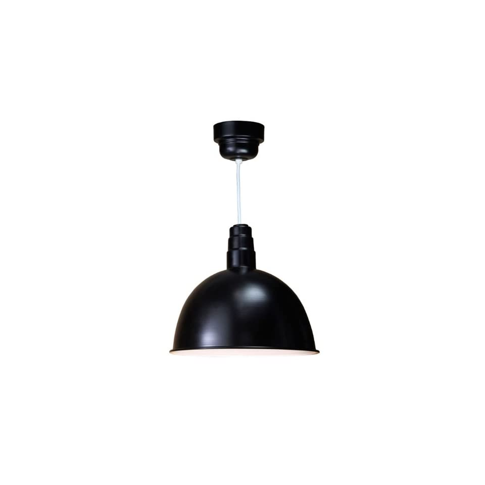 ANP Lighting 18 Inch Deep Bowl Shade With Frosted Glass   Guard