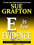 E Is for Evidence: A Kinsey Millhone Mystery (Thorndike Press Large Print Famous Authors Series)