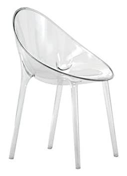 Kartell 5840B4 Schalensessel Mr. Impossible glasklar
