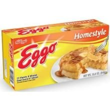 Eggo Homestyle Waffle, 12.3 Ounce -- 12 per case. Review