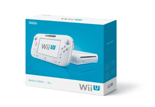 Nintendo Wii U - Console 8 GB Basic Pack, White